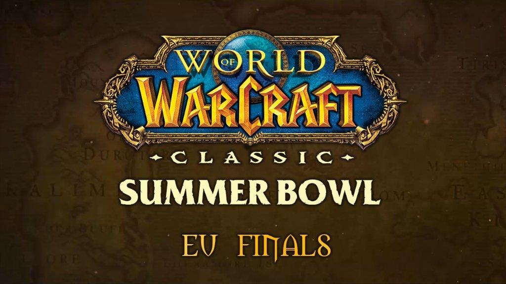 Les meilleurs équipes d'Europe sont prêtes à livrer leur dernière bataille au Goulet des Warsong. Les finales EU du WoW Classic Summer Bowl, c'est maintenant !  📺 https://t.co/NtDQIxUFrm https://t.co/eRlrIs9r9U