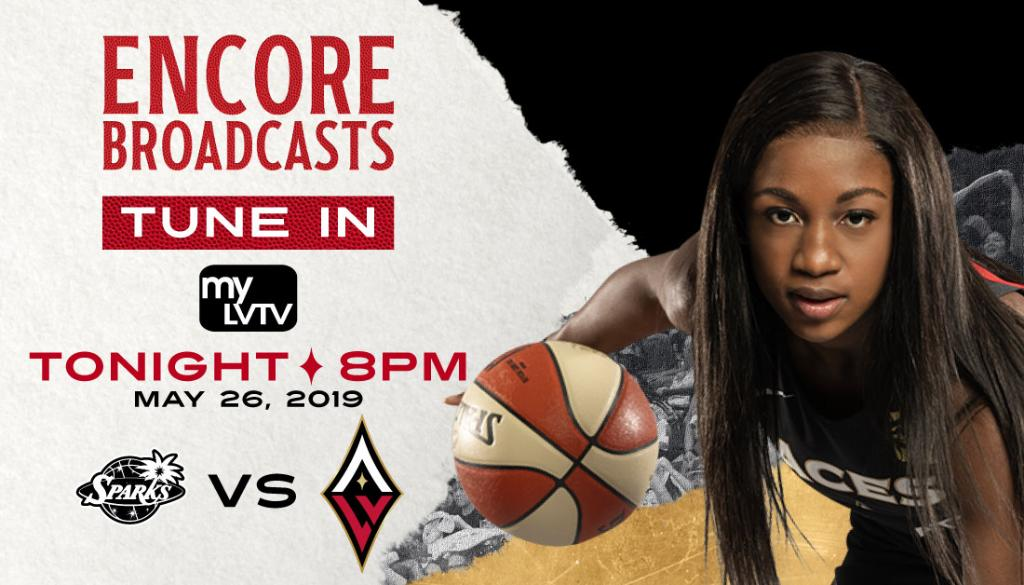 🇺🇸🏀 4th of July Hoops 🏀🇺🇸  First game, first win of the 2019 season! 😏  Tonight! Tune-in to an encore broadcast of our Season Home Opener against the LA.  📺 @MyLVTV ⏰ 8 PM https://t.co/tPhsQRx14H