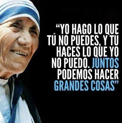 Sin palabras #santaMadreTeresa lo dijo todo #gloriaaDios  #Remaxrd #RemaxLíderrd #bienesraices #serviryproteger https://t.co/NlukiFUID1