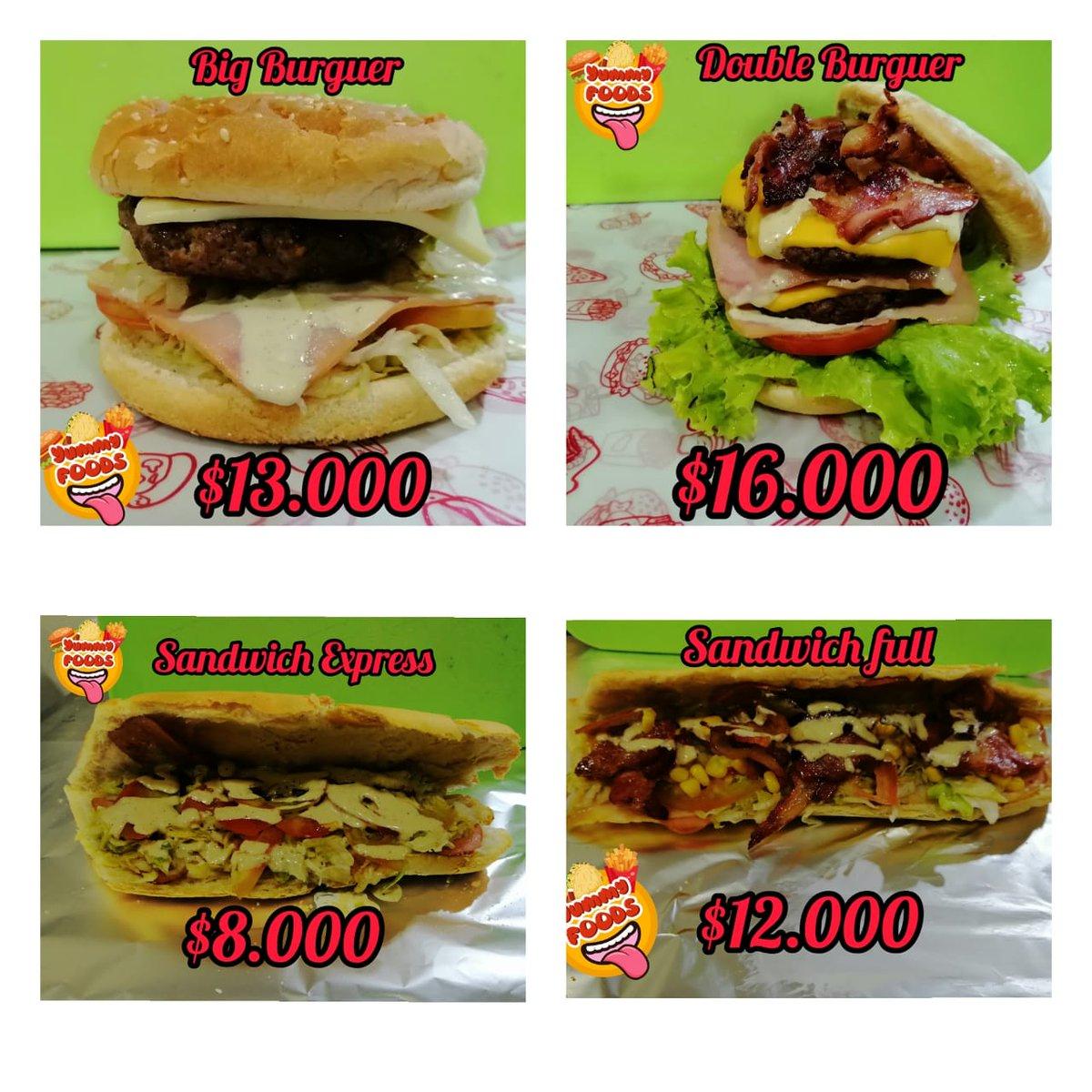 Bueno gente de #Twitter hagan su magia, les ofrezco unas deliciosas hamburguesas y sandwiches este es mi emprendimiento en tiempos de pandemia, servicio a domicilio gratis en Cali... Por favor retwit pic.twitter.com/VBYmZ50COV