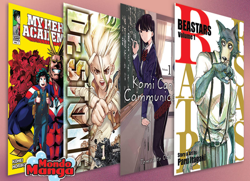 Here's a look at the best-selling shonen manga in American bookstores. #summerreading ow.ly/Yco350AlLhK