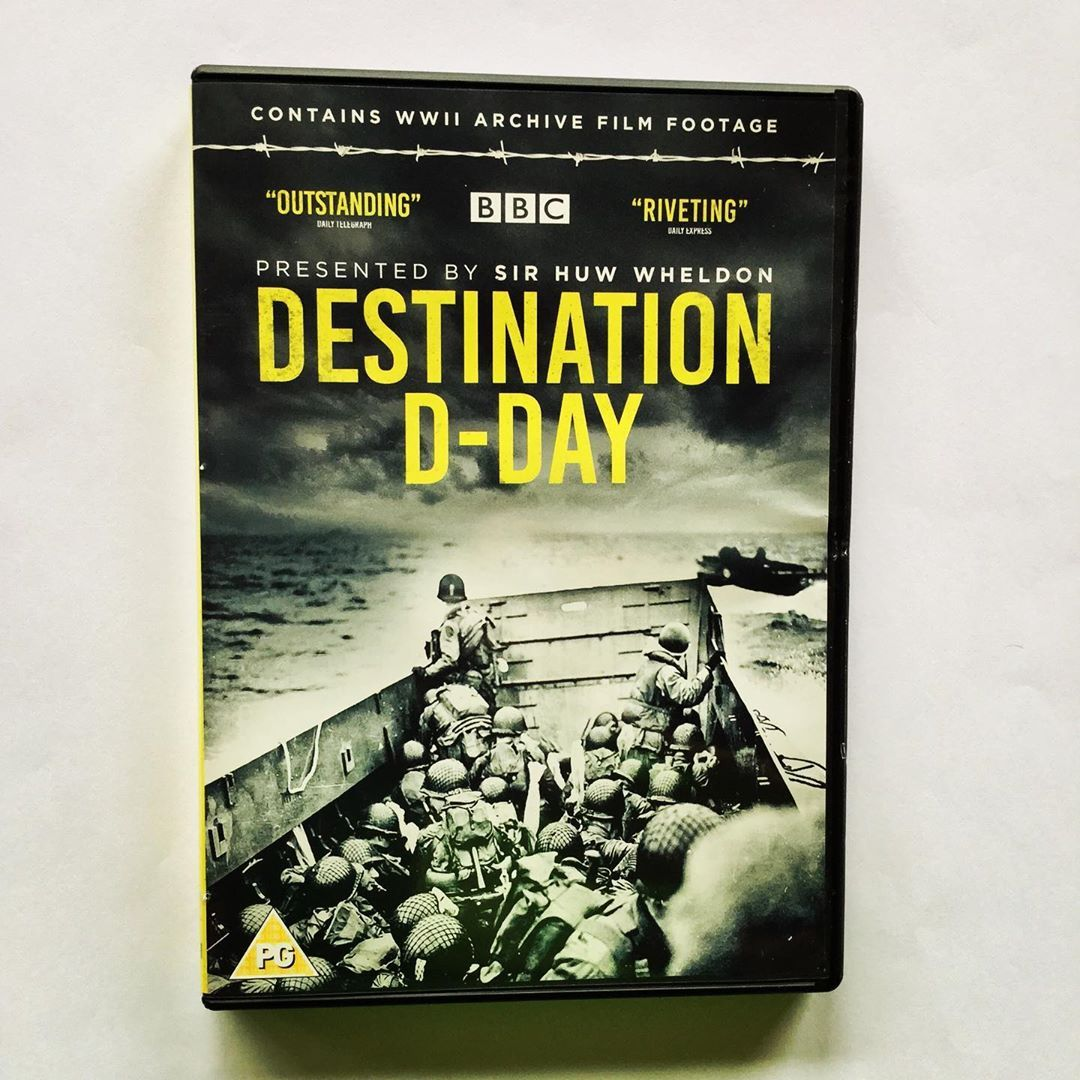 """The BBC has released an old #documentary from 1984 on DVD: """"Destination D-Day"""". Zooms in on the epic logistics involved of the Normandy landings. A must-see program if you study World War II! #DDAY #dday2020 #Normandie #normandy #History #DVD #bbc #WorldWar #Military #Soldiers https://t.co/VP7IINlRlF"""