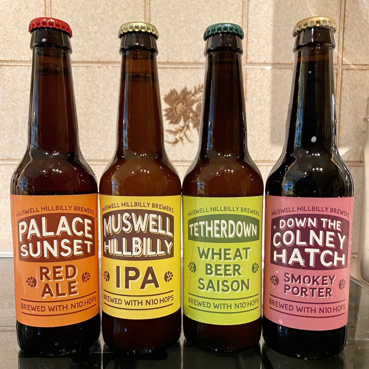 Latest beer delivery arrived, a nice selection from @MusHillBrewers to keep my sheltering lightly lubricated... #SupportYourLocalBrewer https://t.co/uAROAhe6jk