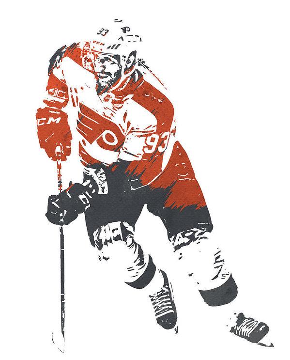 JAKUB VORACEK PHILADELPHIA FLYERS  #flyers #Philadelphia #Pennsylvania #nhl #hockey #Canada #gifts #giftideas #mancave #posters #prints #hoidays #christmas #forsale #sports #sportsart #decor