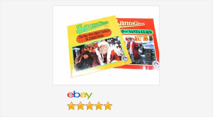 Vintage Santa Claus The Movie Books The Legend & Boy Who Didn't Believe Set #eBay #vintage #gotvintage #youngadultbook #vintagebook #Christmas #SantaClaus   (Tweeted via )