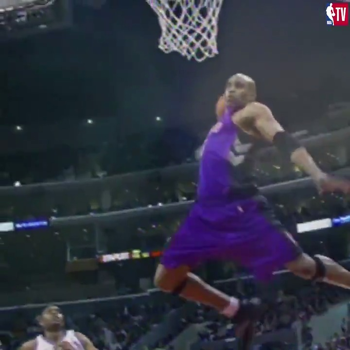 Half-Man, Half-Amazing ✈️  Relive some of Vinsanity's best moments on High Tops: Vince Carter at 8:30pm ET on NBA TV! https://t.co/EY00zaQWJG