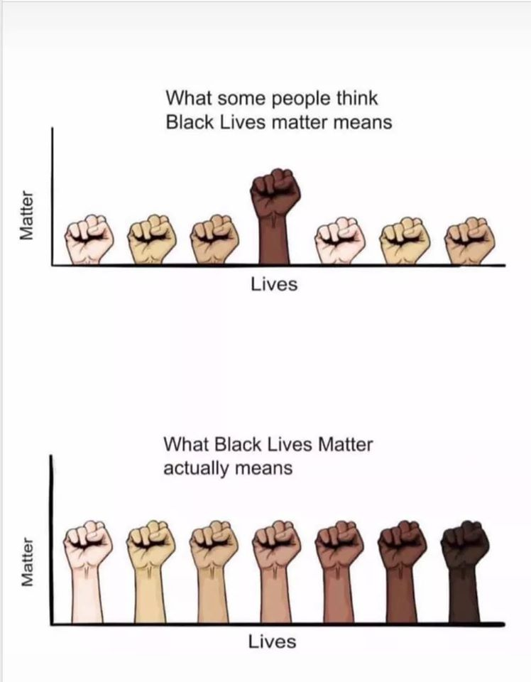 #BlackLivesMatter in a nutshell.