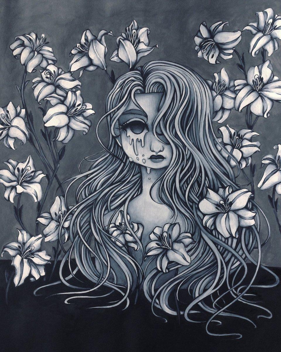 #myart #myartwork #Watercolor #watercolorpainting #watercolour #painting #art #drawing #sketch #blackandwhite https://t.co/wqGh39TDtc