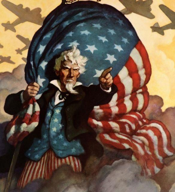 Happy 4th of July. Give em hell--But wear a mask while you're doin it! N.C.Wyeth https://t.co/6jZLi4aQSh