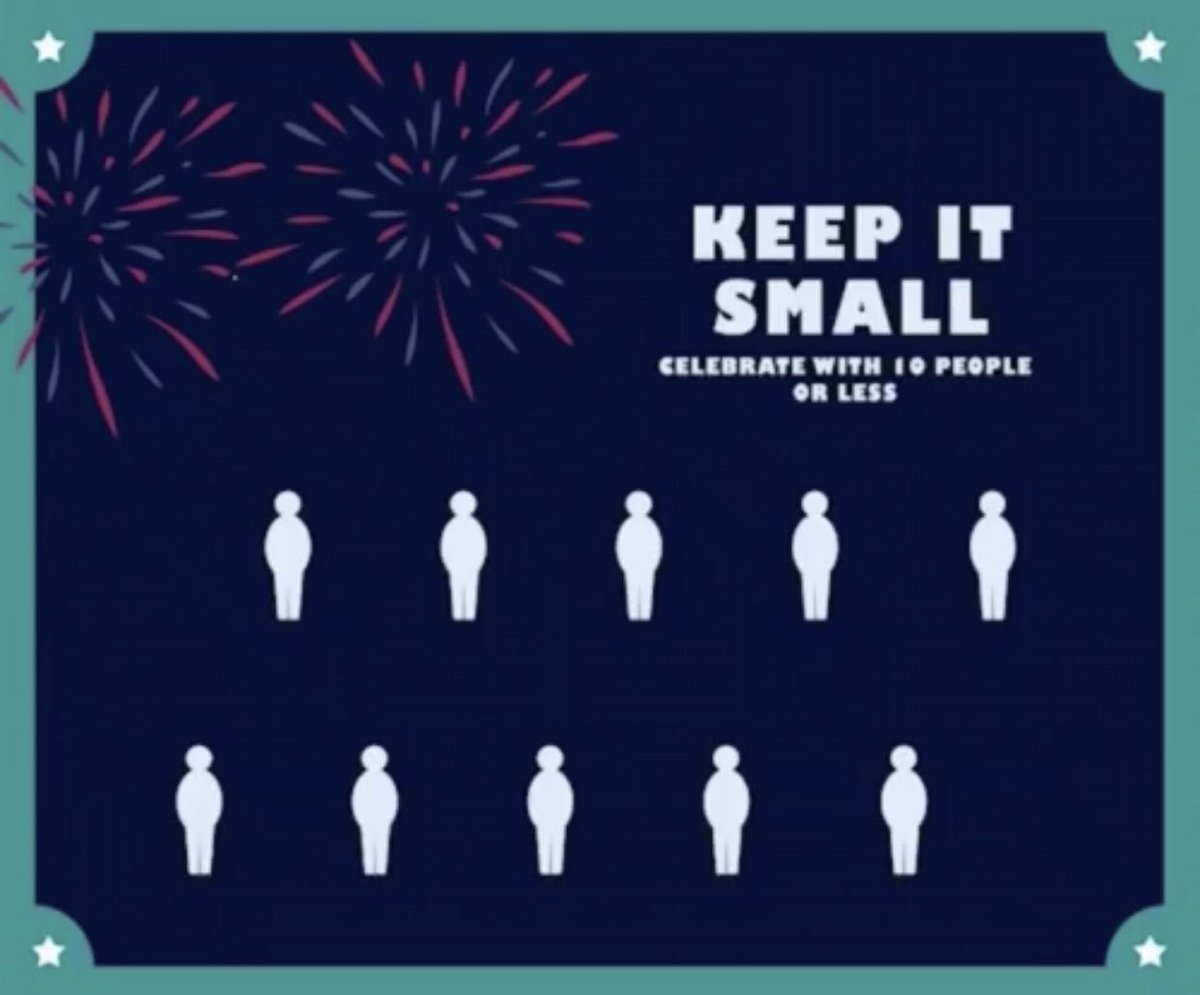 Keep your family healthy. Celebrate with care. #4thofJuly @ChiefHallDPD