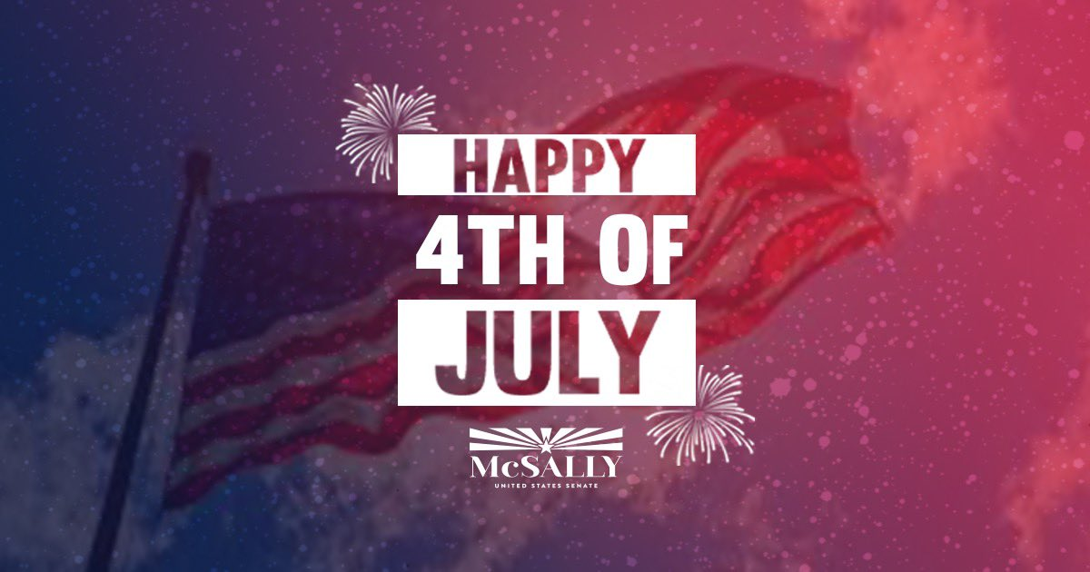 Happy Fourth of July! The land of the free, because of the brave. God bless America! 🇺🇸