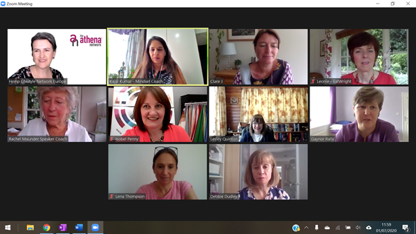 It is important to network. I am a part of a group called #AthenaNetwork. We support each other and learn from each other. I enjoy meeting like-minded people, women entrepreneurs from all walks of life and professions. This is a photo of one of my meeting @ClairePlenec's group. https://t.co/X9bHAtpdiI