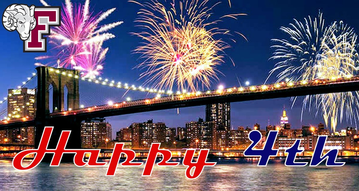 A happy and safe 4th of July from Fordham Athletics #FourthofJuly2020 <br>http://pic.twitter.com/3Ed0HpH8DG