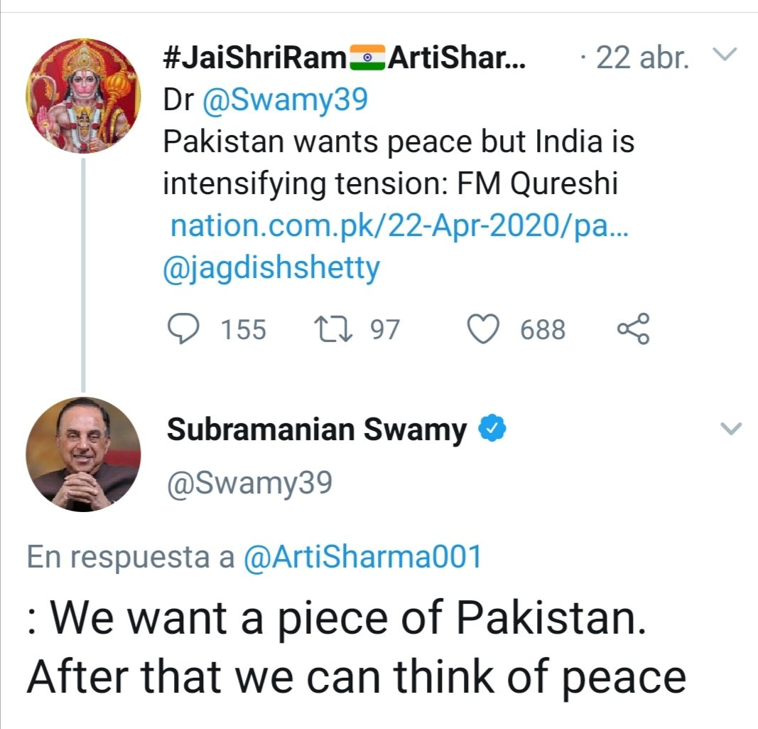 This guy threatens war with China, after claiming a piece of Pakistan  before any peace talks. He's not a hothead journalist, but a senior member of India's ruling party.    Maybe he's trying to sound tougher than the opposition. Alpha males contending for Bollywood's throne pic.twitter.com/EZ2KLE3WtR