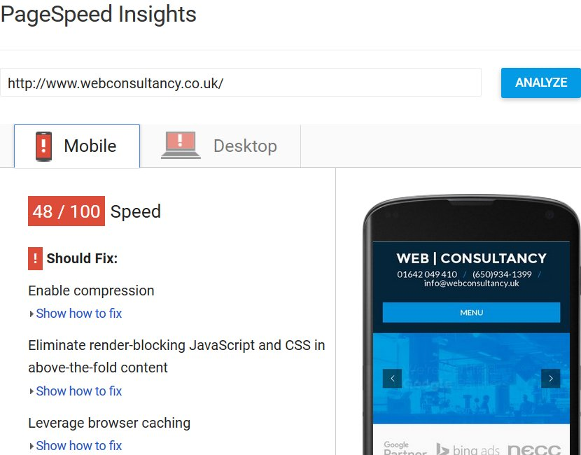 Checkout Web Consultancy Google PageSpeed Insights Tool results, those are some dire numbers for a business offering web design and SEO services!  https:// seo-gold.com/?p=2974    <br>http://pic.twitter.com/Z530lnurLj