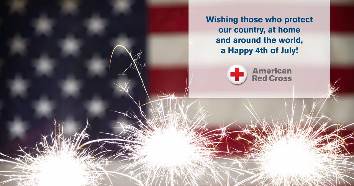 Happy 4th of July to our staff, volunteers, donors, community partners, and especially our military members and their families. Wishing everyone a safe and fun-filled day! #Happy4thofJuly