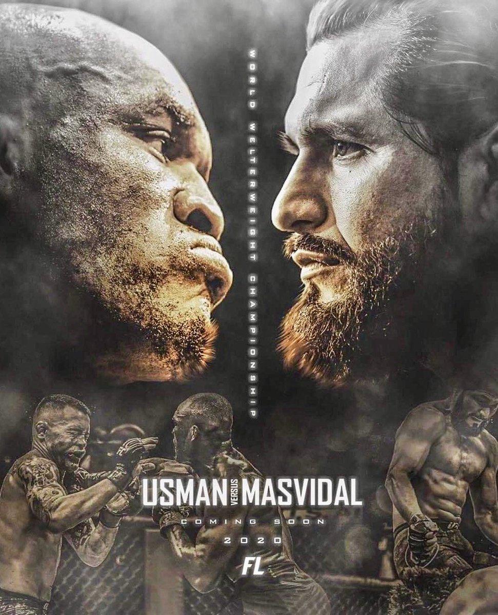 Con appena sette giorni di preavviso, #JorgeMasvidal si è offerto di salvare il Main Event di #UFC251 del prossimo 11 luglio, dicendosi disponibile a subentrare a #GilbertBurns, risultato positivo al #Covid19, nel match contro #KamaruUsman, valido per il Titolo dei Pesi Welter. https://t.co/0PlkQ648e5