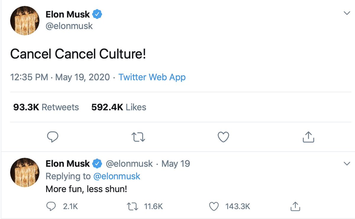 Elon Musk is getting spammed with twitter replies of him and Ghislaine Maxwell and it seems to have altered his views about free speech https://t.co/bEldPDD3H1