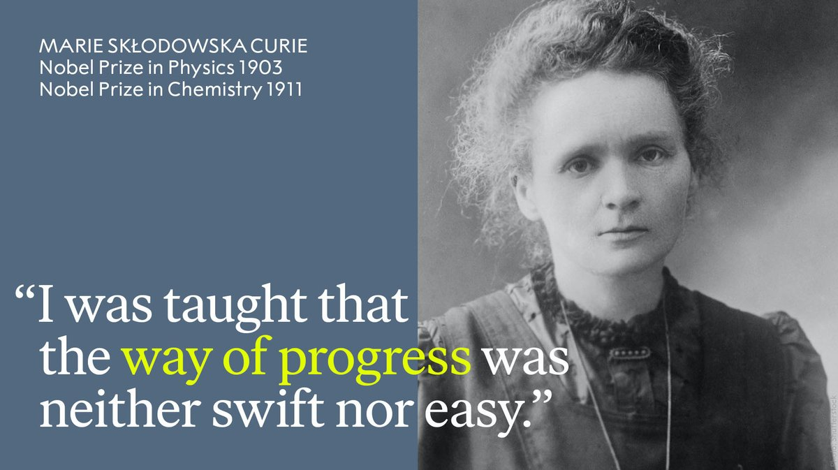 Remembering the remarkable Marie Skłodowska Curie - awarded the 1903 Physics and 1911 Chemistry Prize - who passed away #OTD in 1934. #NobelPrize
