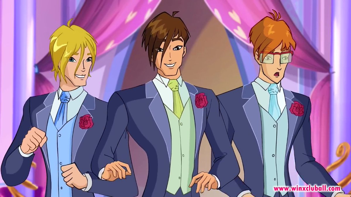 Winx Club Boys