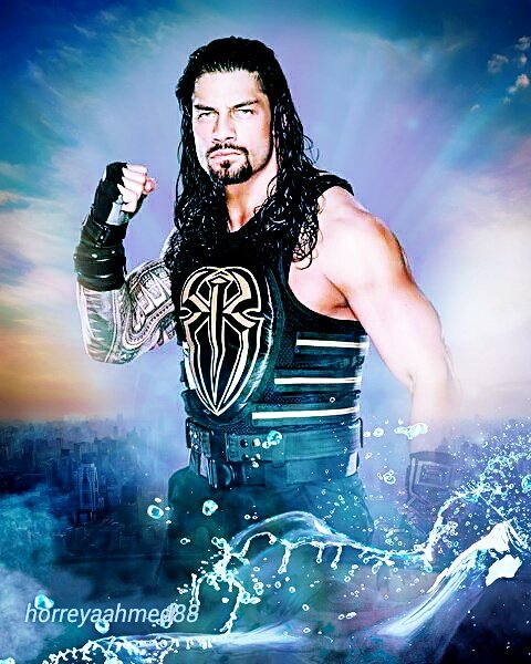 I think that's my first edit for Roman Reigns!! Wow. pic.twitter.com/ZX50PtFl52  by Fileana2