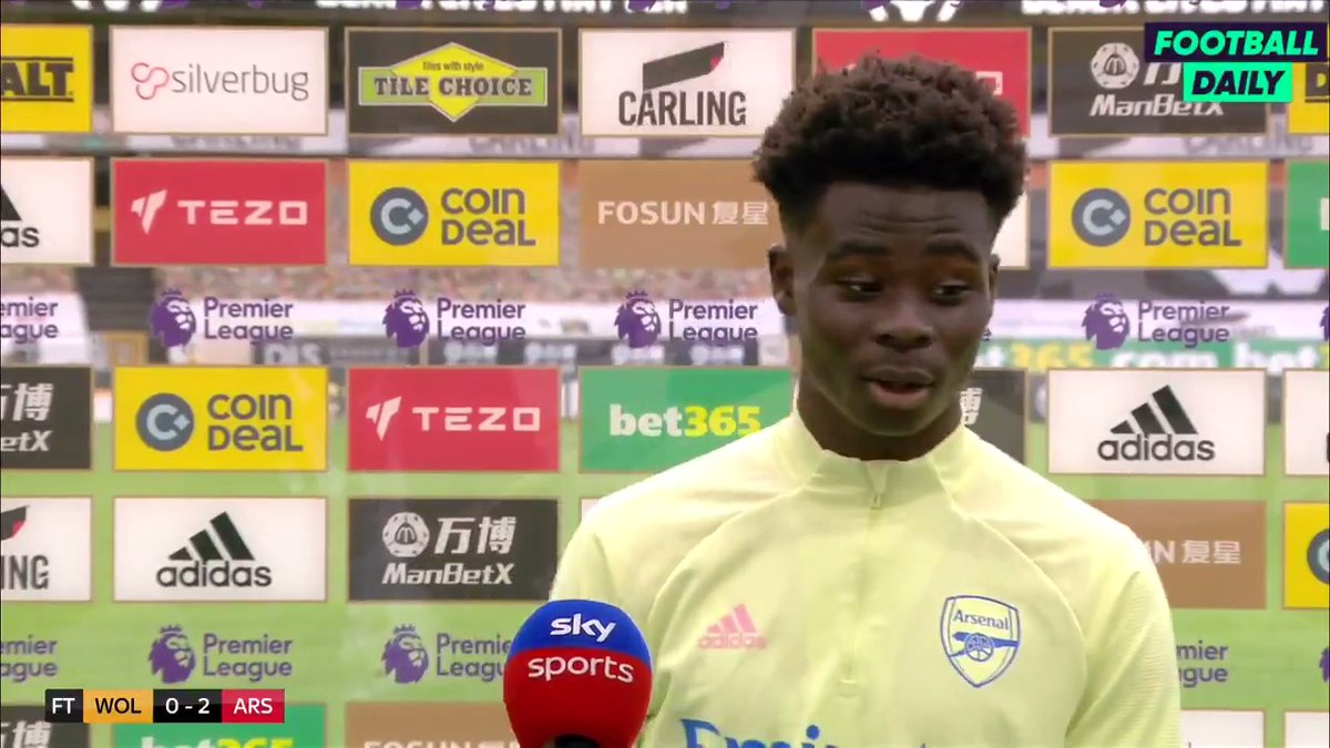 🗣 'It feels like we're more together' Saka on our squad. #AFC