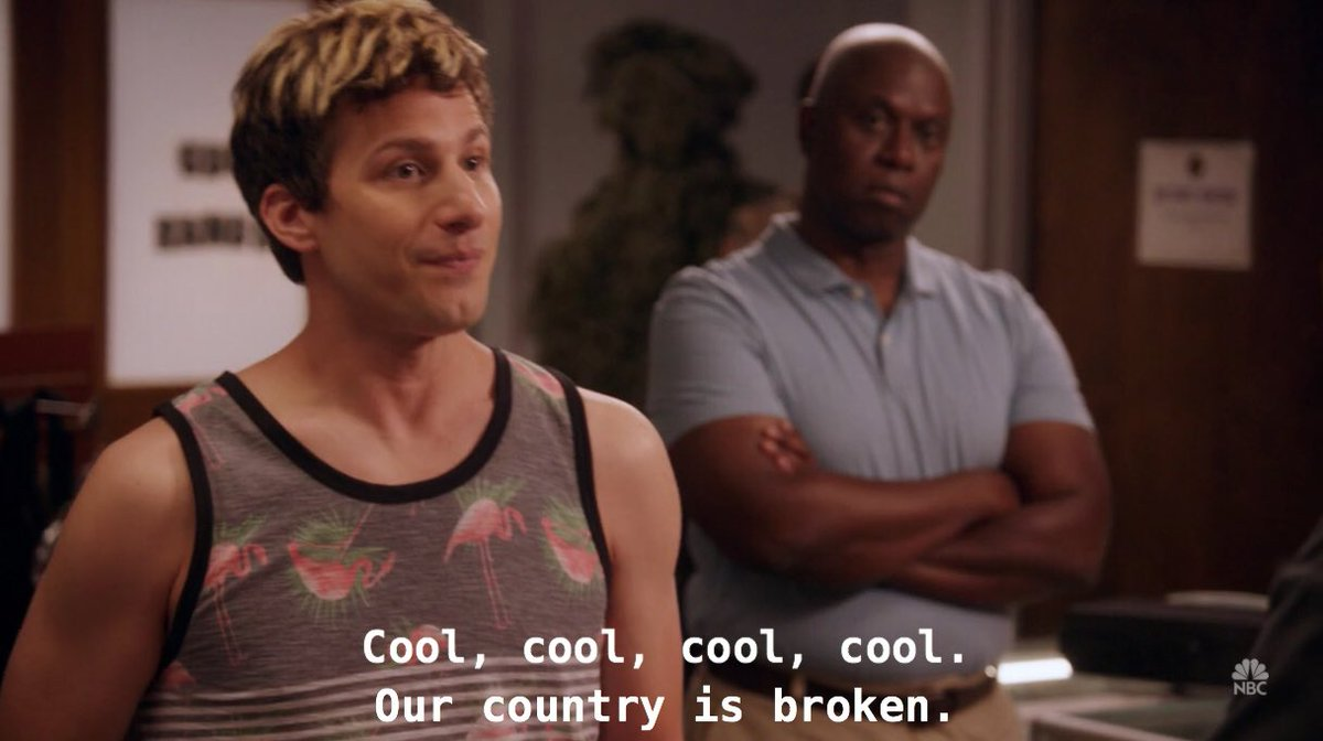 out of context brooklyn nine nine🏳️🌈 (@nocontxt99) on Twitter photo 04/07/2020 18:47:00