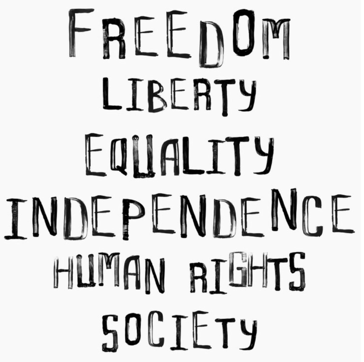 Freedom, Liberty, Equality, Independence, Human Rights and Society. Let's reflect on these words as we celebrate independence and continue to fight for freedom for every American. Happy Independence and freedom day everyone!