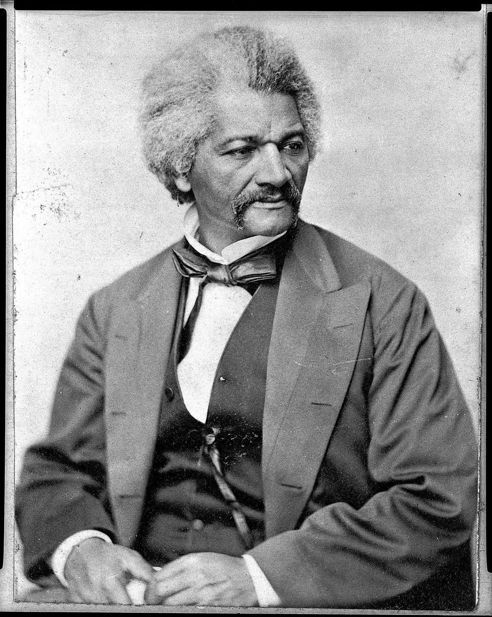 """The feeling in the nation must be quickened, the conscience of the nation must be roused, the propriety of the nation must be startled, the hypocrisy of the nation must be exposed: and its crimes against God and man must be denounced."" Frederick Douglass. https://t.co/JAgS5bSaZd"