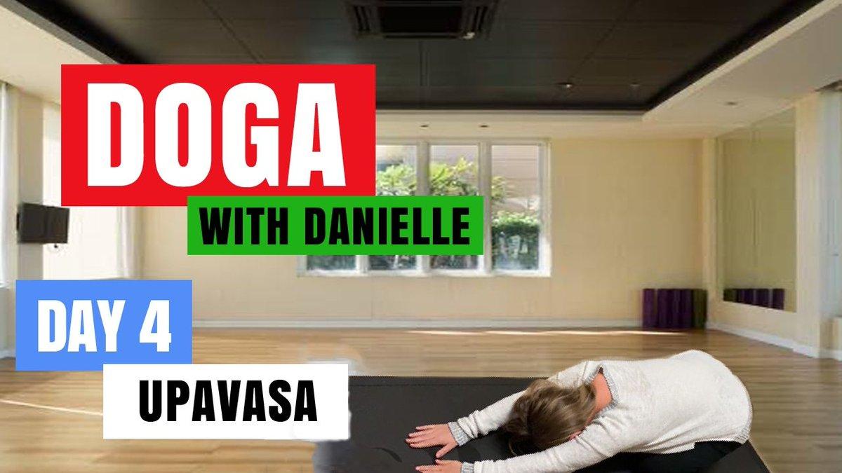Day 4 - Upavasa • #DogaWithDanielle   #ChildOfGod #ChildOfGodTeam #ChildOfGodMovement #Doga #Yoga #Movement #Breathe #Breathing #Health #Fitness #Malshi #Shitsu #Maltese #Dog #DogLover #LucyTheMaltese #MentalHealth #Spirituality #Upavasa #Connection  https://t.co/08OvfmXKd3 https://t.co/76q8afegAx