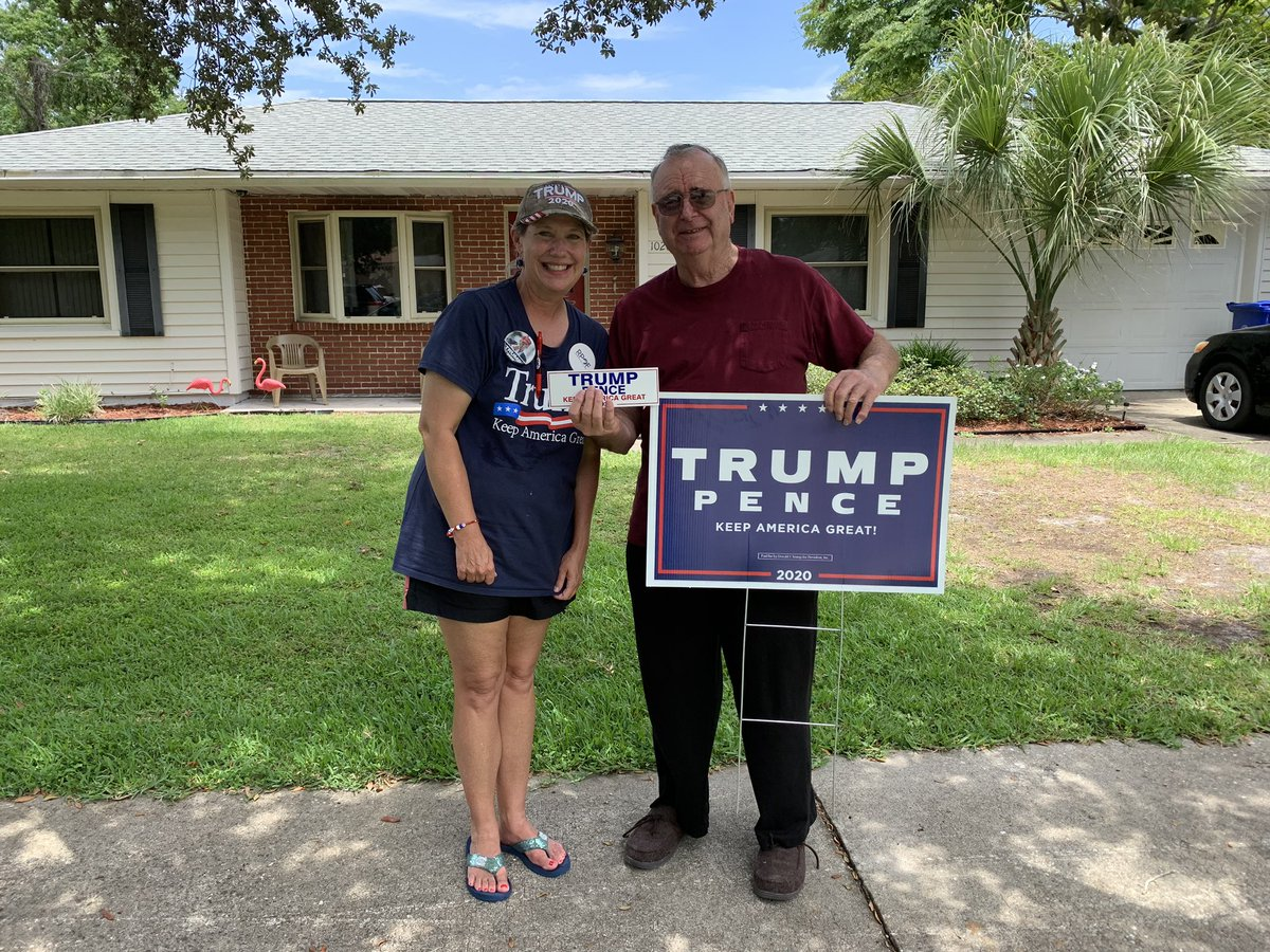 Another busy day door knocking!!  This guy is ready to #LeadRight   Come on and join us in celebrating the most wonderful country in the world!! #Cat5Cavalry Email me at vtraylor@flvictory.compic.twitter.com/Ty1PUKgM1V