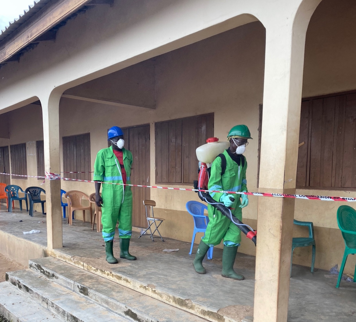 MP Okudzeto Ablakwa partners with Zoomlion to disinfect all polling stations in his constituency twice daily