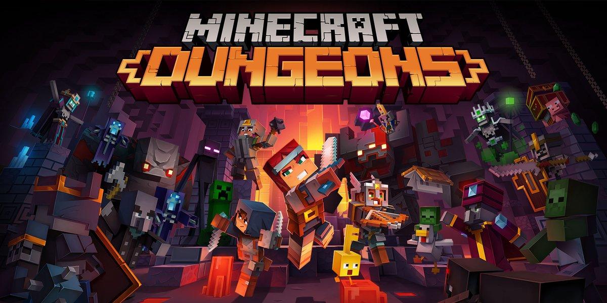Aus Spaß mal Minecraft Dungeons ausprobiert. Wuiii, es gefällt mir sehr! Kann gar nicht aufhören 😋😅  ___ #Minecraft #MinecraftDungeons https://t.co/LG9SdHgnhR