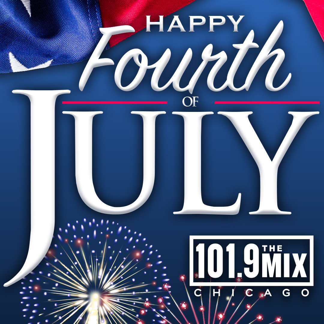 Happy 4th of July from 101.9 The Mix! 🎆🗽🇺🇸