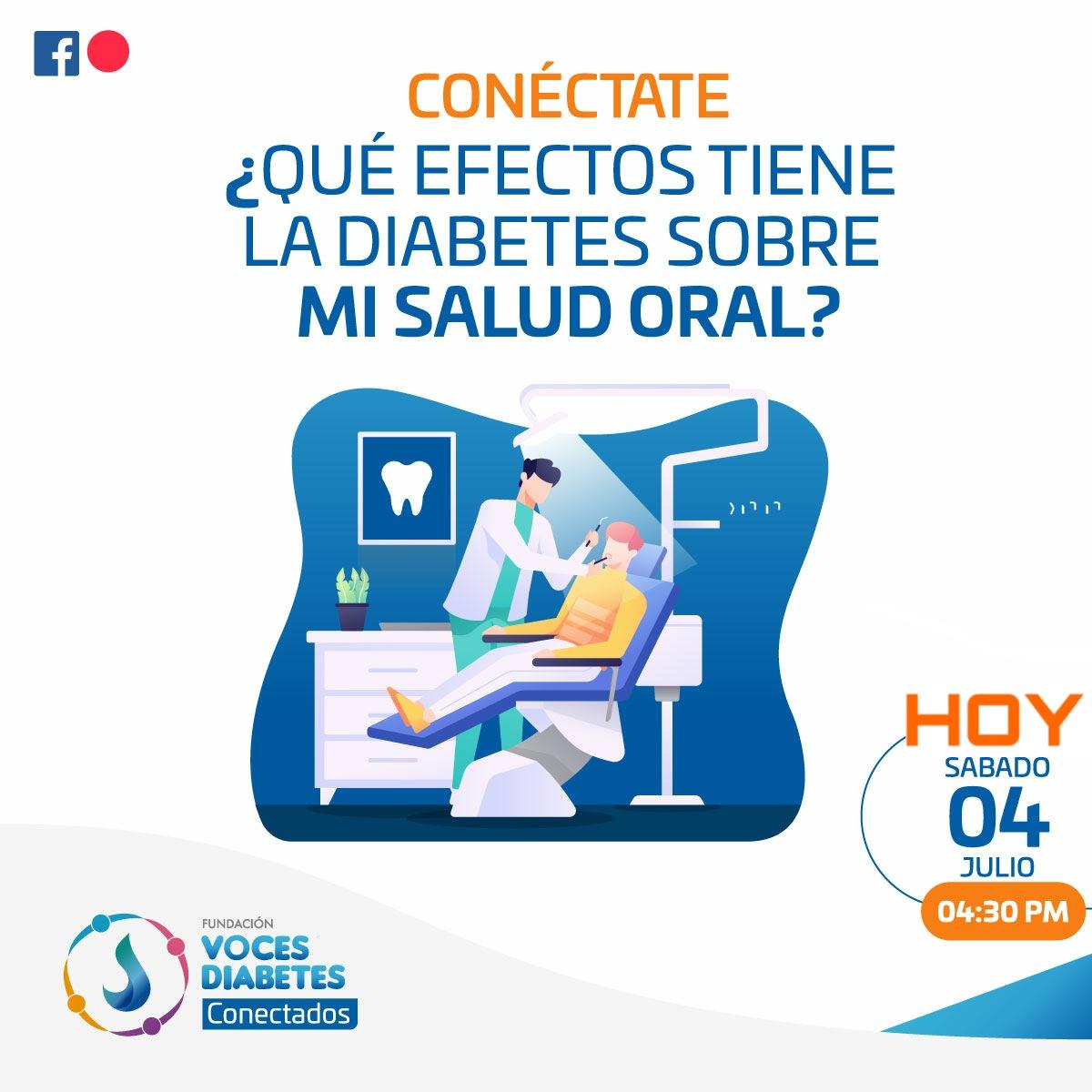 #4Julio  ¿Dudas sobre el cuidado de tus dientes y procedimientos quirúrgicos si tienes #diabetes? Hoy resolveremos tus preguntas a las 4:30 p.m. en nuestro #Conectado de Facebook Live👉 https://t.co/G3wfHaVJzR  #COVID19 https://t.co/bdqGaMQmE6