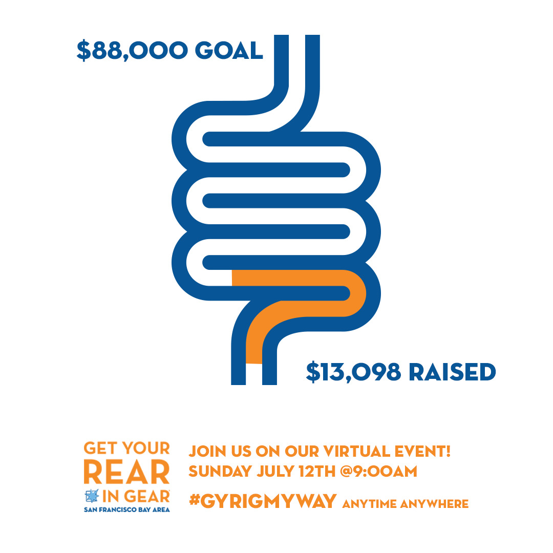 Registration is FREE this year, but we are still aiming to raise $88K in donations to assist our beneficiary, Operation Access, in providing needed colonoscopies. Hit the link below to donate and register for our virtual race on July 12th! linktr.ee/gyrigsfbayarea