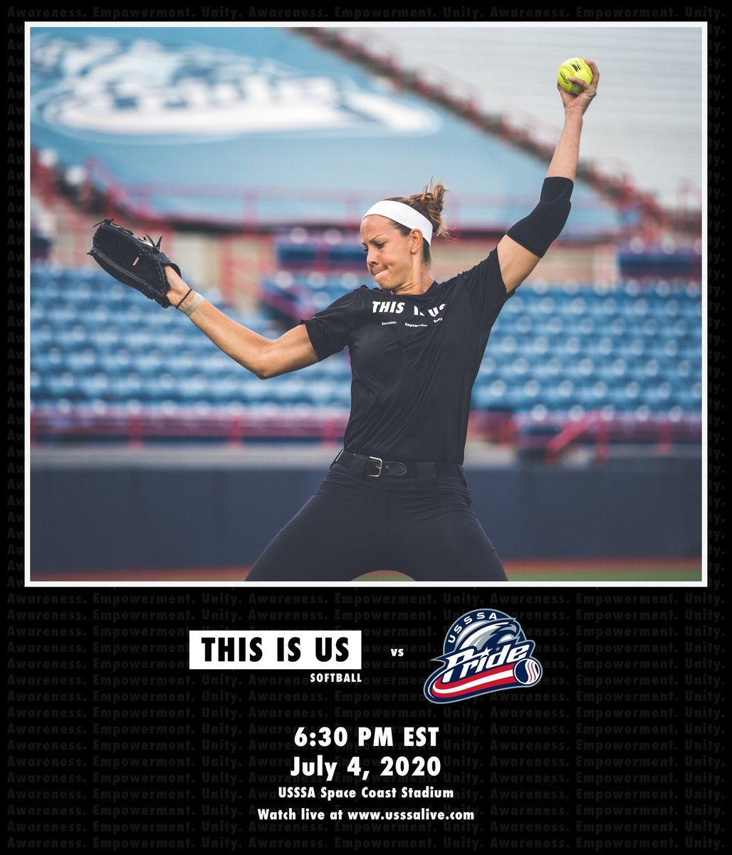 Softball, hot dogs, and fireworks....what more could you want? @catosterman   Watch live: https://usssalive.com/live/usssa-pride-vs-SmashItSports--9…pic.twitter.com/nU2kixx2WR – at Space Coast Stadium