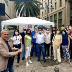 Image for the Tweet beginning: Gazebo a Palermo per la