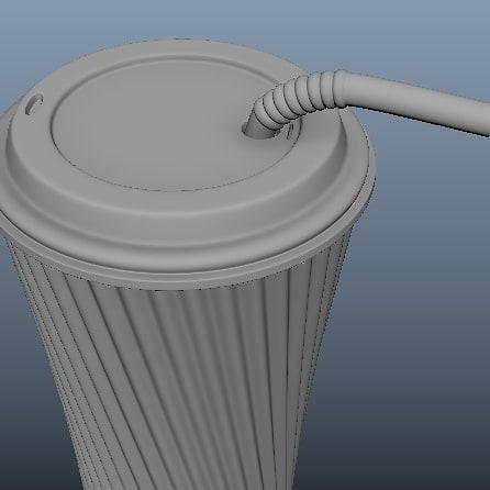 Cold_coffee cup modeling in maya 3D. #3dmodeling #adskmaya #ProductDesign #maya3d #coldcoffeepic.twitter.com/IdRfKzwzCb