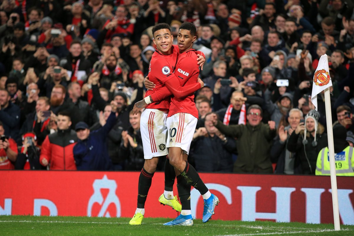 """Rashford: """" One thing I can say is the kid [Greenwood] does this all the time. This is him playing a normal game of football."""" #MUFC [MU] https://t.co/tTC1AIjLEa"""