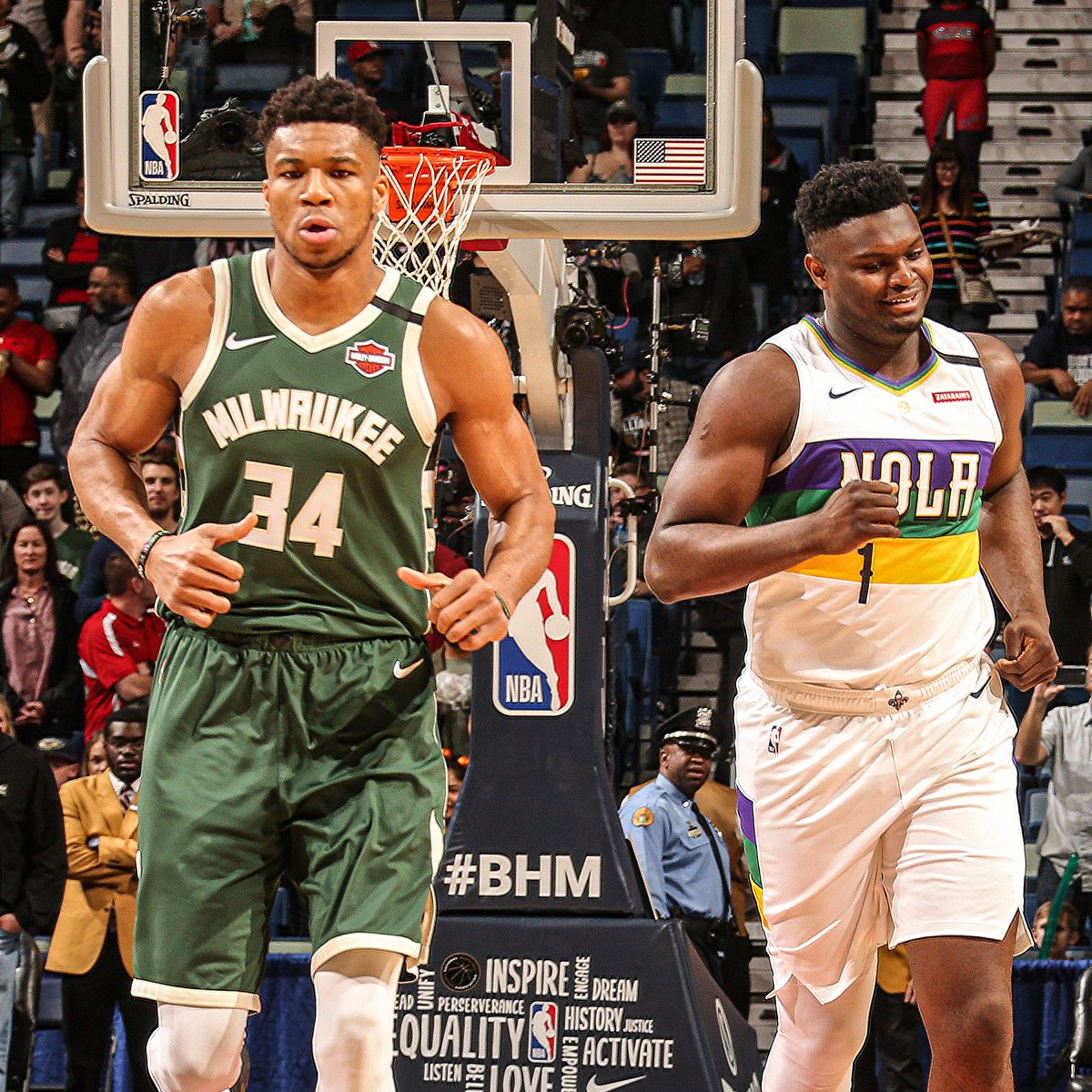 Giannis vs. Zion. #BucksSeasonRewind | Game 50
