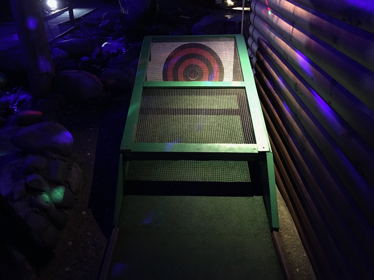 A Night at the Mini Golf NZ     #travel #lookatourworld #travelbloging #travelbloggers #CourseRecord #HoleInOne #NewZealand #NightGolf #Rotorua