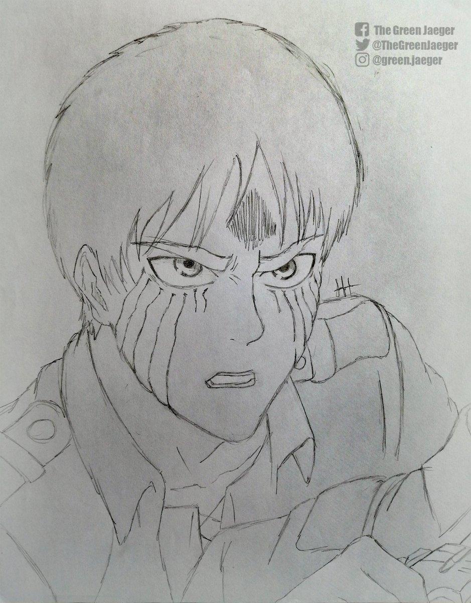 Shingeki no Kyojin  Empezamos el #SábadoDeBoceto! ¿Les gustaría que subiera bocetos rápidos como este más adelante? ¿O seguimos sólo en digital?  -GreenJaeger #AttackOnTitan #ShingekiNoKyojin #Eren #Mikasa #sketch #boceto #animesketch #aot #snk #anime #draw #dibujo #artpic.twitter.com/u6W9W2e974