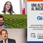 Image for the Tweet beginning: 🔶🔷 @InesArrimadas participa mañana en
