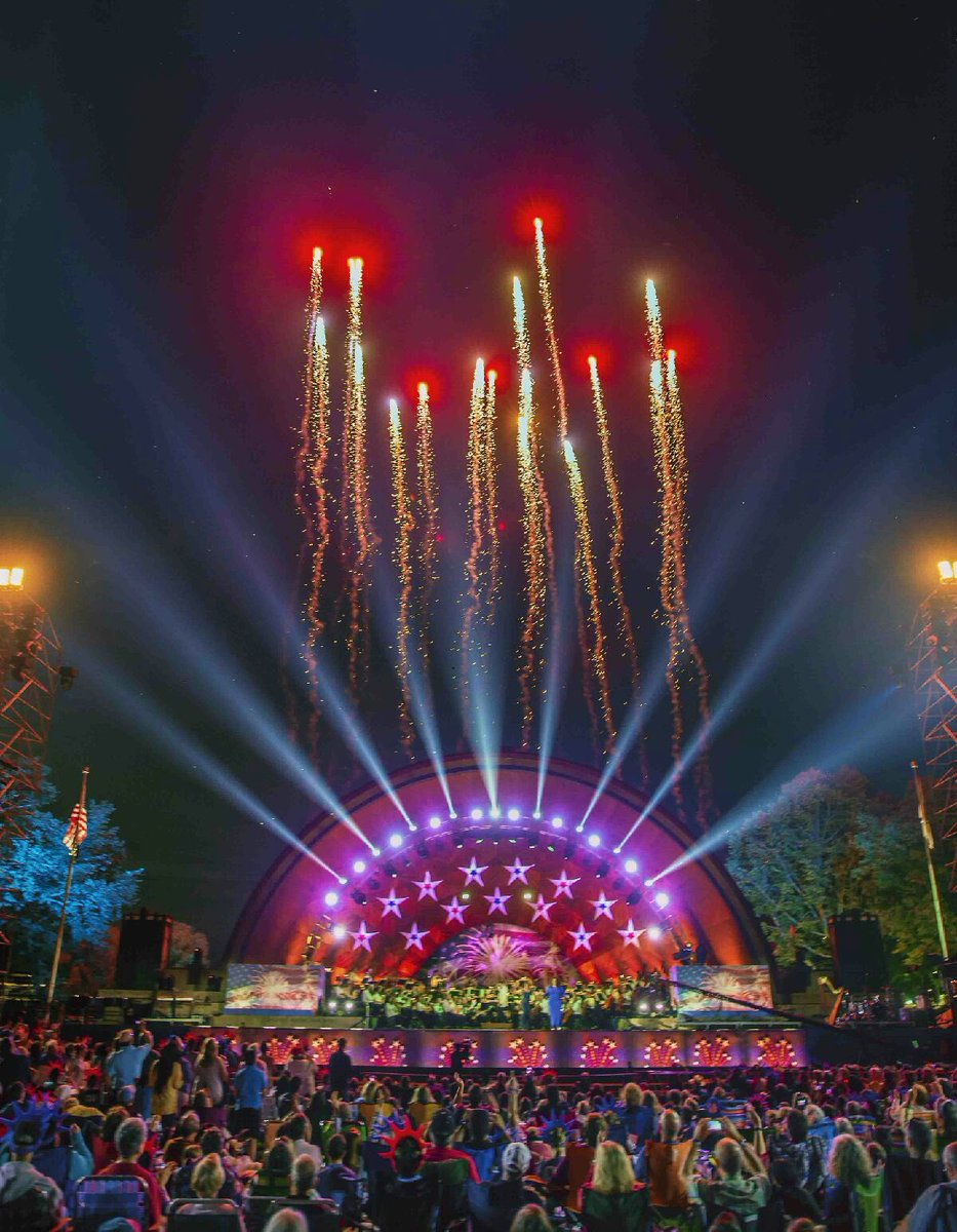 Today would have been my 45th consecutive Boston's 4th of July Concert & Fireworks event that I worked on the production of. It's a very special day that has been part of my entire adult life. Thanks David...and see you all in 2021. https://t.co/fss3OZww3j