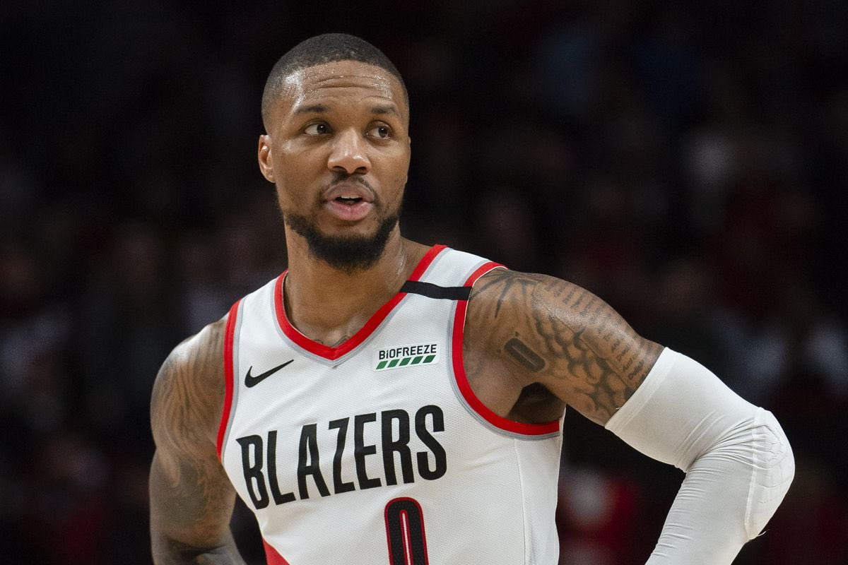 """""""If scoring point guard Lillard asks for a trade, it's believed the Knicks or Lakers would be his choices.""""  Via @NYPost_Berman https://t.co/k0XAbrDXnH"""