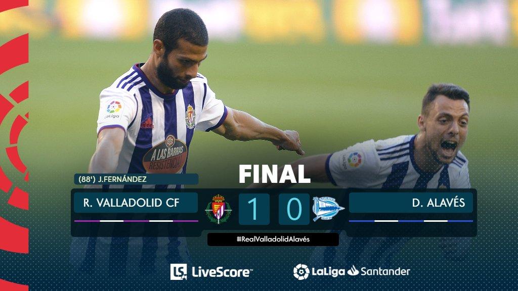 Real Valladolid-Deportivo Alavés