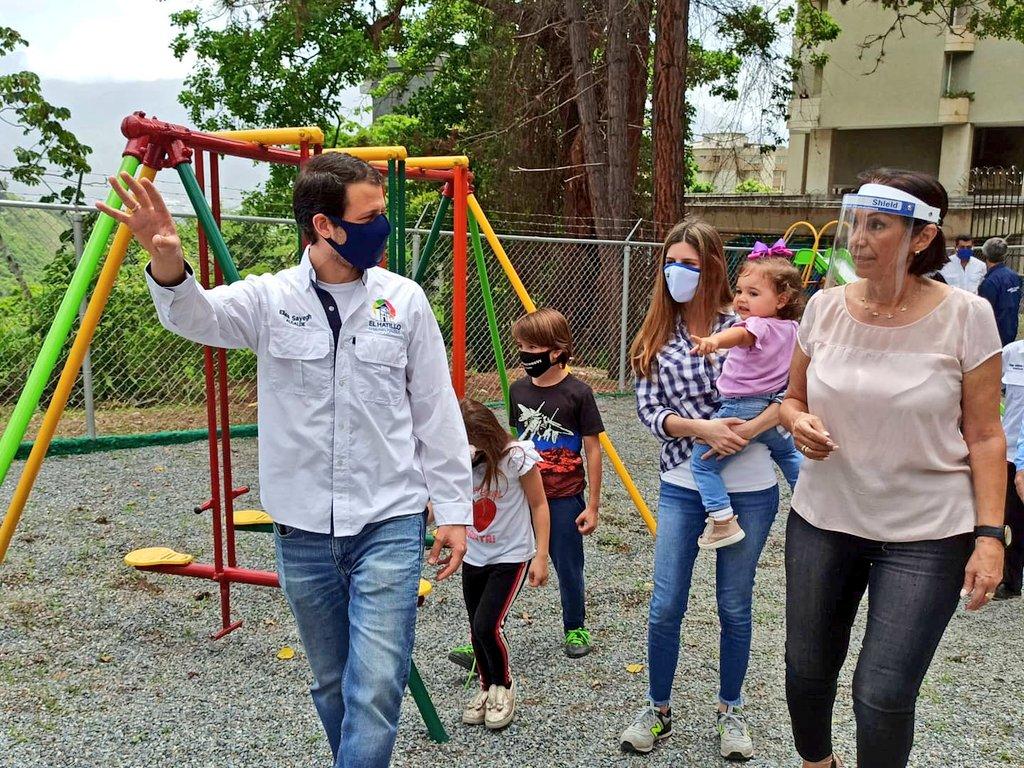 Muy pronto nos volveremos a encontrar en estos espacios junto a toda la comunidad. El Parque de la Av. Paují cuenta hoy con mobiliarios de calidad donde nuestros niños puedan desarrollar su niñez e infancia de manera feliz. #SeguimosTrabajando https://t.co/VggS8viAKi