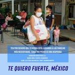 ¡Tu donativo está llegando a las familias más necesitadas! 🤍 #TeQuieroFuerteMexico