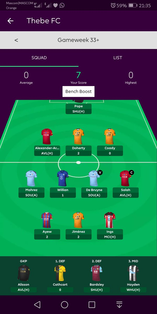 Cry with me😭😭😭😭💔💔mxm I'm taking -8 points on the next gameweek transfer https://t.co/sBSTA5Y6jW https://t.co/T9f7fgOybh